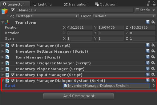 The Dialogue System getting started - Inventory Pro Docs